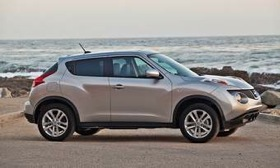 Once for Europe only, the Juke will reach U.S. showrooms next month. (Photo courtesy of Nissan.)