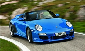 The Porsche Speedster. (Photo courtesy of Porsche.)