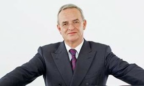 Martin Winterkorn aims for Volkswagen to be the world's largest automaker by 2018. (Photo courtesy of AutoWeek.)