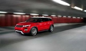 The Range Rover Evoque five-door is expected to debut in Los Angeles in November. (Photo courtesy of Land Rover.)