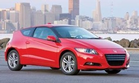 A Honda source says a higher-performance version of the CR-Z hybrid may be coming. (Photo courtesy of Honda.)