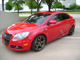 The Suzuki Kizashi concept. (Photo courtesy of Suzuki.)