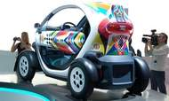 Renault Twizy. (Photo by Mark Vaughn.)