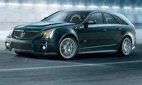 The Cadillac CTS-V wagon reaches dealer showrooms later this year. (Photo courtesy of Cadillac.)