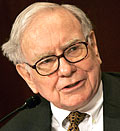 Warren Buffett © Matthew Cavanaugh/epa/Corbis