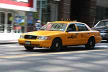 Image: New York Taxi. Photo credit: Henning 48, Creative Commons Attribution ShareAlike 3.0 License