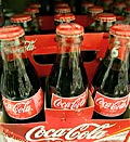 Coca-cola bottles; Credit: (©Jeff Chiu/AP)