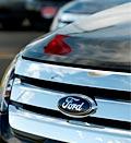 Ford logo; Credit: (© David Zalubowski/AP)