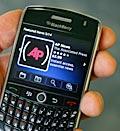 Blackberry Curve 8900 (© Peter Morgan/AP)