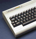 Commodore 64 microcomputer, circa 1985 ( Science and Society/SuperStock)