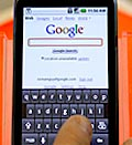 Google Nexus One phone. Credit: (© Jeff Chiu/AP)