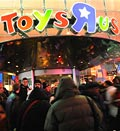 Credit: ( Stephen Chernin/AP)&#10;Caption: Toys R Us store in New York&#8217;s Times Square