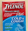 Concentrated Tylenol Infants' Drops Plus Cold & Cough  (© Paul Sakuma/AP)