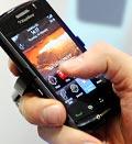 Credit: (© Manu Fernandez/AP)Caption: BlackBerry Storm 2 Smartphone