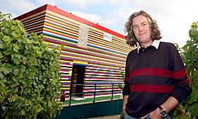 James May's full-size house made entirely with Lego bricks was recently demolished. (© PA Photos/Landov)