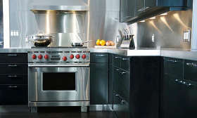 Many of the existing kitchen and bathroom trends will continue in 2010, according to a survey by the National Kitchen & Bath Association. (© Fancy/Veer/Corbis)