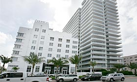 Only 15 units remain at the Caribbean condo building in Miami Beach. (©Alex Quesada/The New York Times)