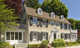 The home featured in 'The Amityville Horror' boasts a new look that caught it a quick sale at an asking price of $1.15 million. (© Realtor.com)