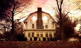 The home as it appeared in the 1979 film 'The Amityville Horror.' (© American International Pictures/courtesy Everett Collection)