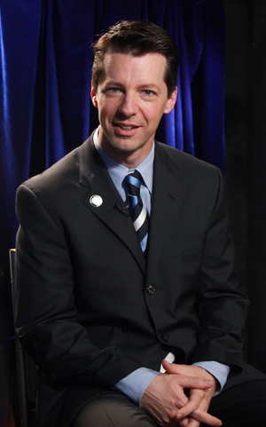 Sean Hayes Hosts the Tonys; Photo by Walter McBride for Retna