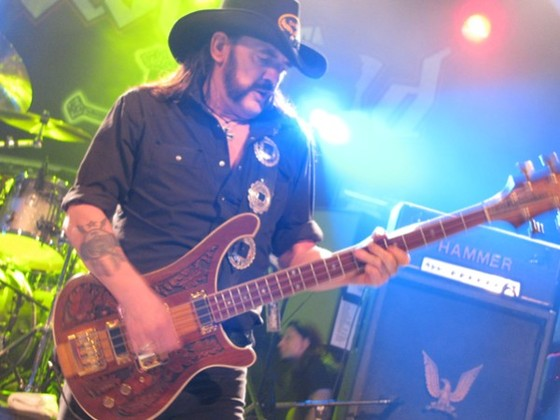 Lemmy courtesy Craig Hlavaty, Houston Press