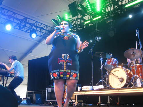 Beth Ditto of Gossip via Andrew Matson of the Seattle Times