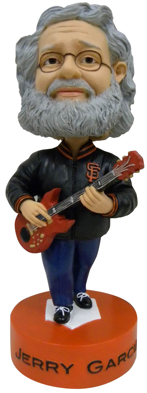 Jerry Garcia Bobblehead. No, you're not hallucinating.