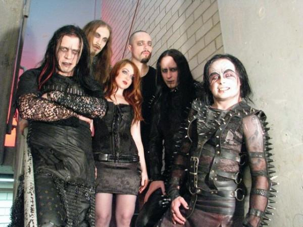 Cradle of Filth circa 2010